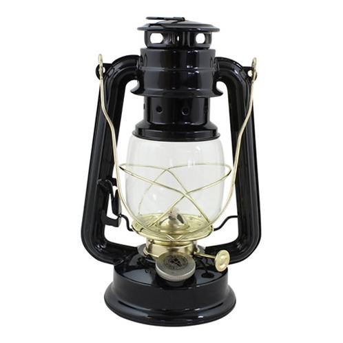 Petite lanterne à huile noire Vintage