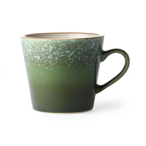 Cappuccino Mug en céramique 70's Grass HK Living