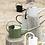 Thumbnail: Arrosoir métallique kaki 1,4 litres