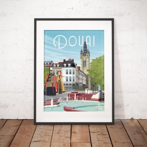 Affiche Wim' Douai 30x40 cm