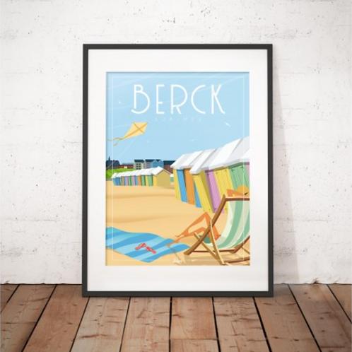 Affiche Wim' Berck Sur Mer 30x40 cm