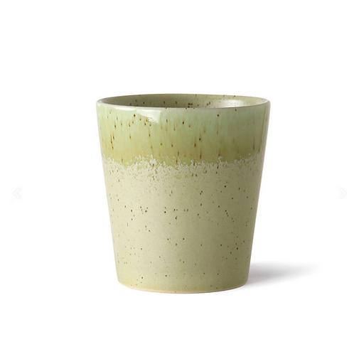 Mug en céramique 70's pistachio HK Living