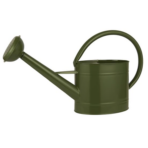 Arrosoir métallique kaki 5 litres