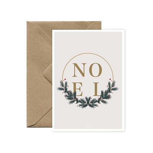 Carte postale Noël AIME ILLUSTRATION