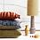 Thumbnail: Coussin velours Doris 35x60 cm HK LIVING