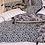 Thumbnail: Coussin en lin Mahé bleu 40x60 cm