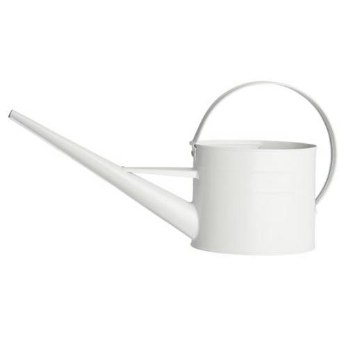 Arrosoir métallique blanc 1,4 litres