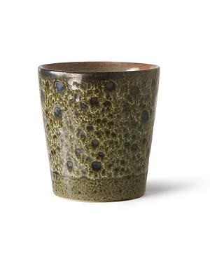 Mug en céramique 70's vulcano HK Living