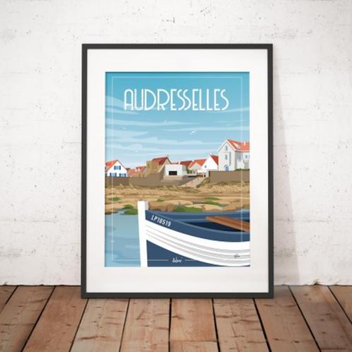 Affiche Wim' Audresselles 30x40 cm