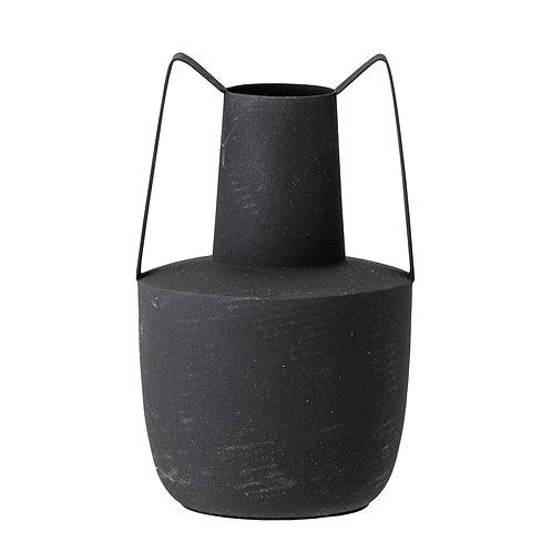 Vase à anses métal noir BLOOMINGVILLE