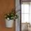 Thumbnail: Pot de fleur mural en email tailleL