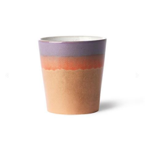 Mug en céramique 70's Sunset HK Living