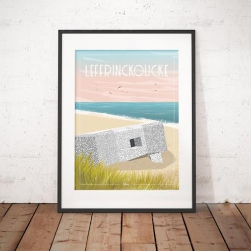 Affiche Wim' Leffrinckoucke 30x40 cm