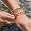 Thumbnail: Bracelet Disque Turquoise UNE A UNE