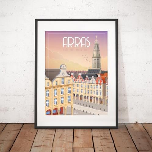Affiche Wim' Arras Toi, Toi, mon Toit 30x40 cm