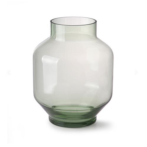 Vase vert transparent HK LIVING