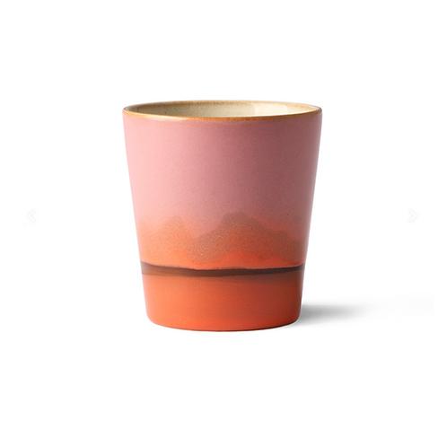 Mug en céramique 70's Mars HK Living