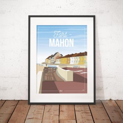 Affiche Wim' Fort Mahon 30x40 cm
