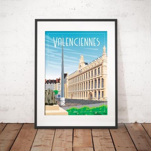 Affiche Wim' Valenciennes 30x40 cm