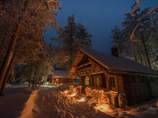 Chalet Jack by Night