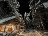 """Chalet """"Jack"""" by night"""