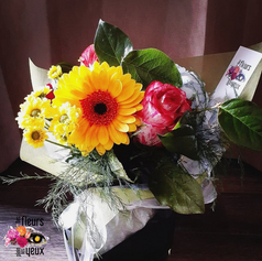 Bouquet lié estival