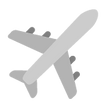 Airplane - Grey