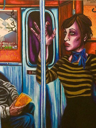 Subway Martyr