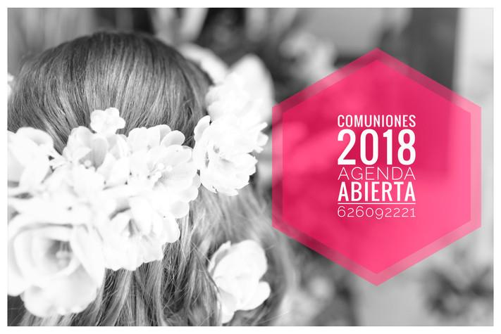 Agenda Comuniones 2018