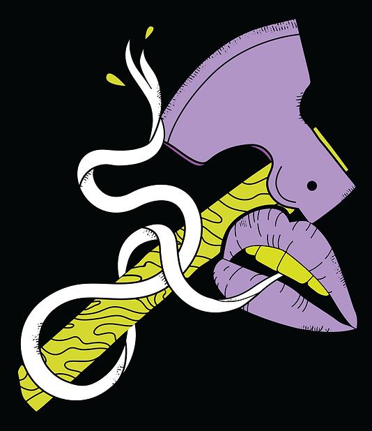 Sweet-Axe__Snake-lips-Axe-colour-on-blac