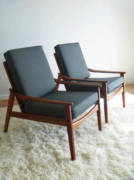 Morgan armchairs