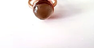 Ring - Smokey Quartz in Rose Gold