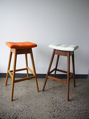 TH Brown Martell Bar Stool