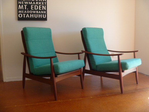 Teal Viking Chairs