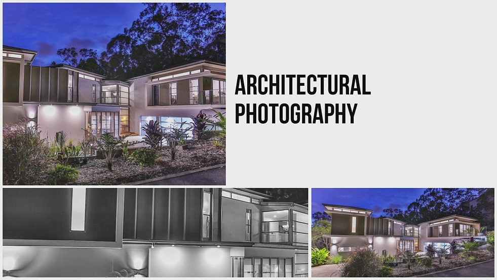 Architectural photography, real estate, design