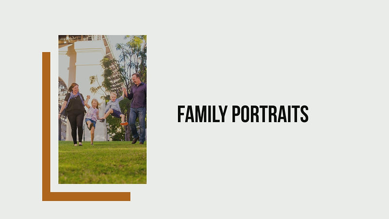 Family Portrait Photographer Brisbane