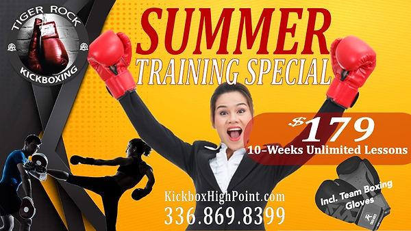 Kickbox Training Special in High Point, NC