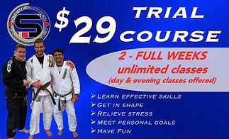 Brazilian Jiu-Jitsu (BJJ) Near Me Trial Course