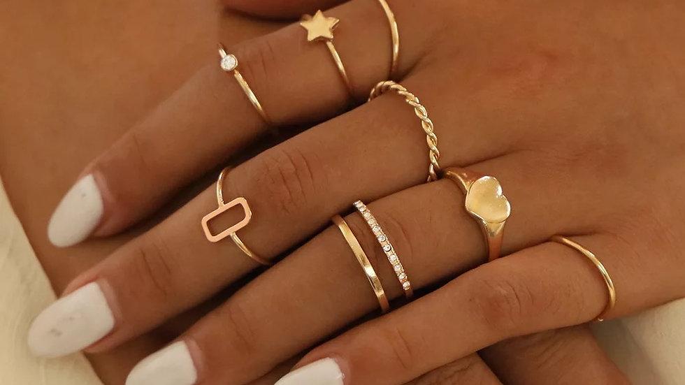 Serenity Ring Set