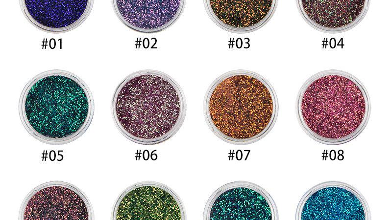 Metallic Glitter Eyeshadows