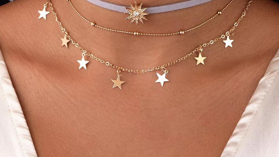 Star Shine Choker set