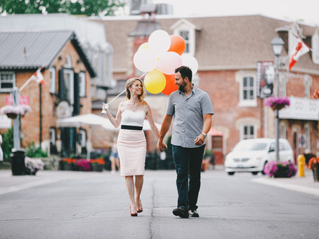 Unionville Engagement Photography