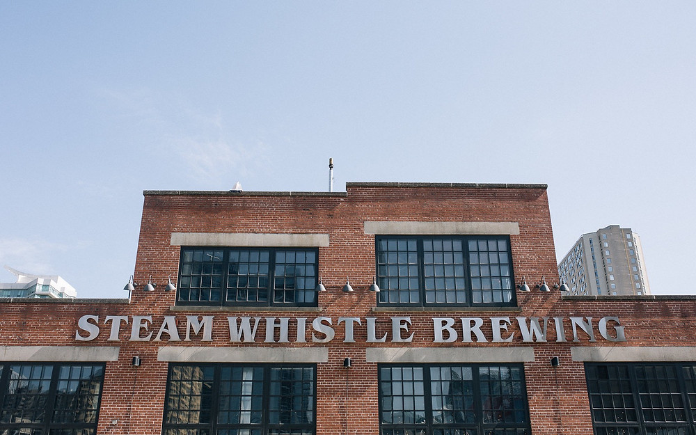 The Steam Whistle Brewery in downtown Toronto