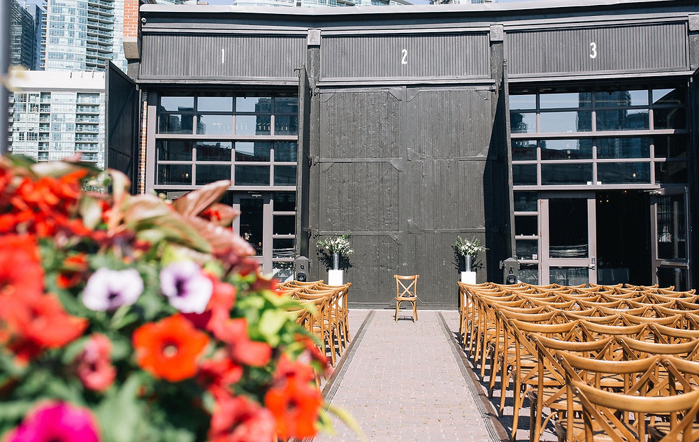 Steam Whistle Brewery Wedding Ceremony