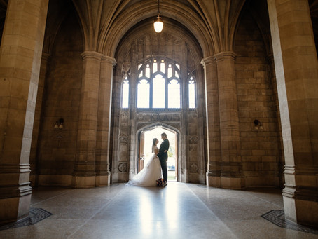 Knox College Chapel/Berkeley Church Wedding