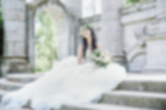Toronto bride on a budge