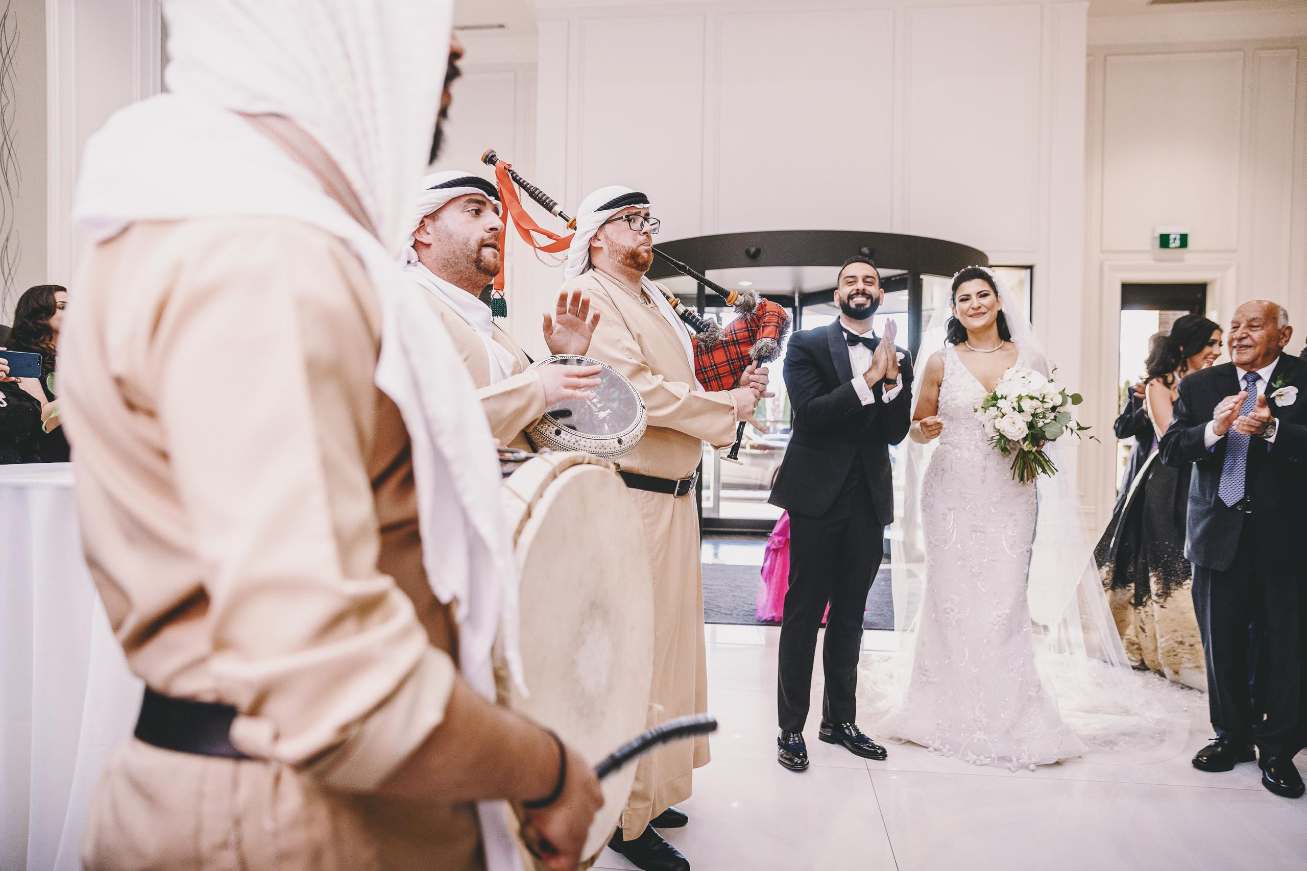 Luxurious  wedding tables at the Arlington Estate