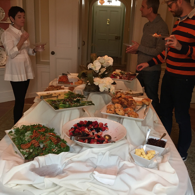 What an amazing brunch spread!