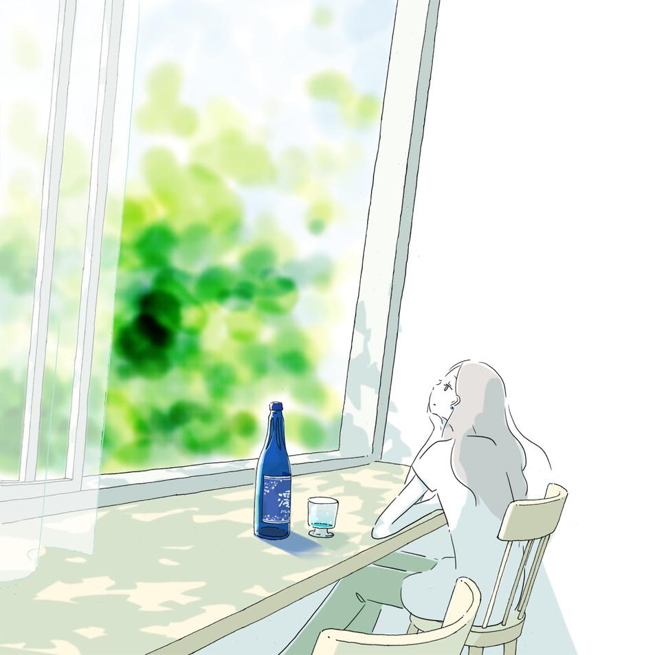スパークリング清酒 澪 販促用gif動画制作