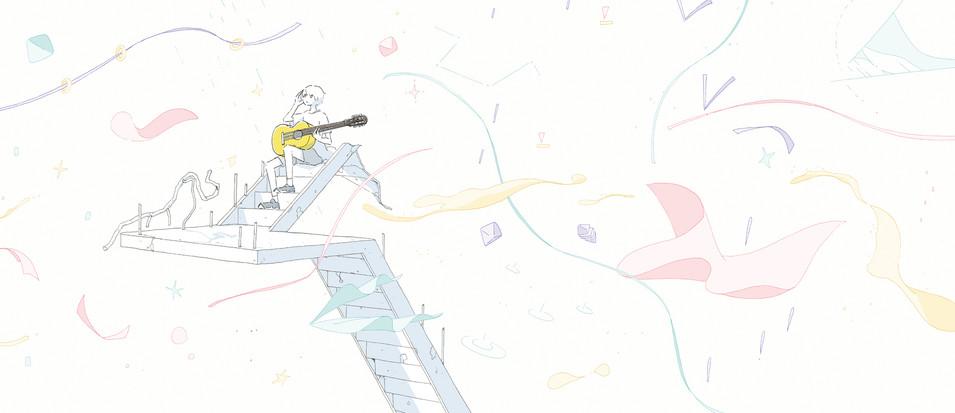 『ギフト、ぼくの場合』装画・挿絵  今井恭子さん著 小学館 装丁:城所潤さん+大谷浩介さん(JUN KIDOKORO DESIGN)